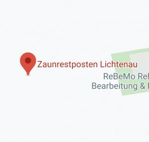 Zaunrestposten Lichtenau